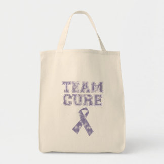 Team Cure (Periwinkle) Tote Bag