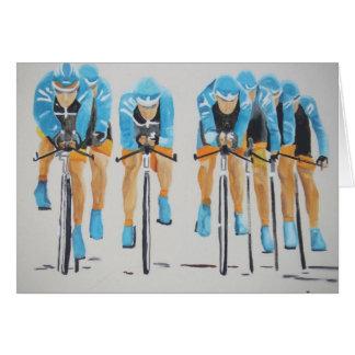 team cycle race card