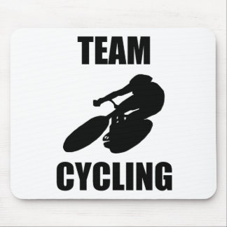 Team Cycling Mouse Pad