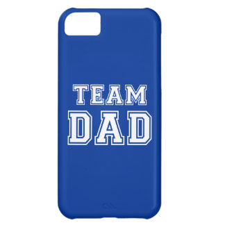 Team Dad in blue Case For iPhone 5C