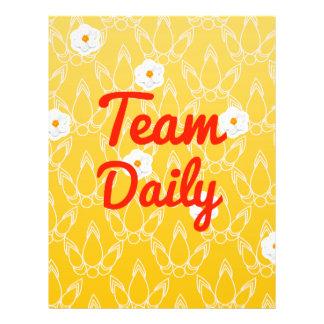 Team Daily Flyer Design