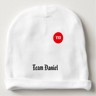 Team Daniel Baby beanie hat