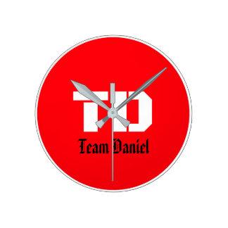 Team Daniel Clock