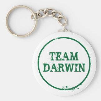 TEAM DARWIN (keyring) Basic Round Button Key Ring