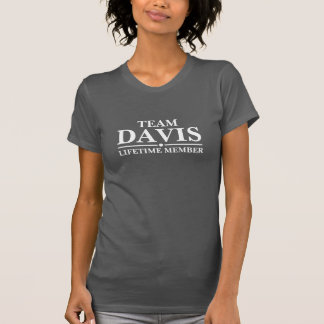 Team Davis Lifetime Member T-Shirt