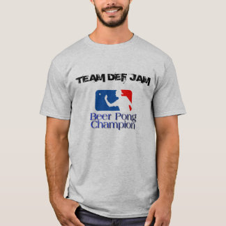 TEAM DEF JAM - Customized T-Shirt