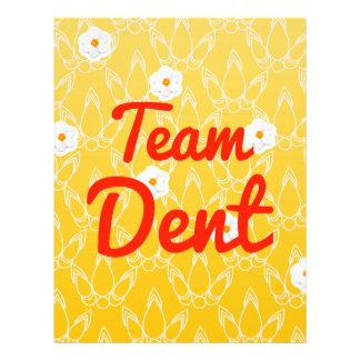 Team Dent Flyer Design