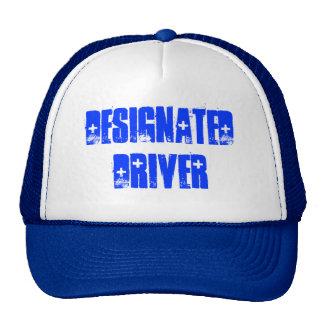 TEAM DESIGNATED DRIVER - CAP By eZZazzleMan Mesh Hats