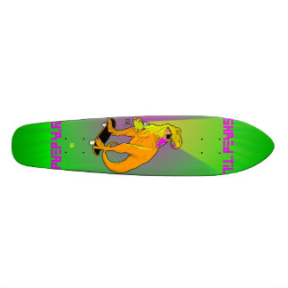 Team Dinosaur- oldschool Skate Board