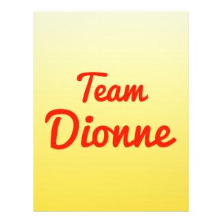 Team Dionne Full Color Flyer