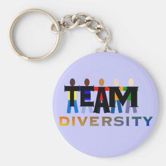 Team Diversity Key Ring