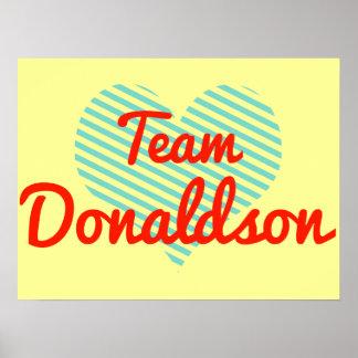 Team Donaldson Print