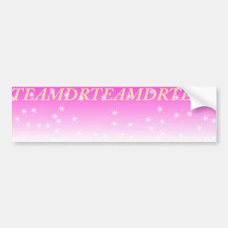 Team DR Bumper Sticker