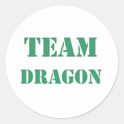 Team Dragon Sticker