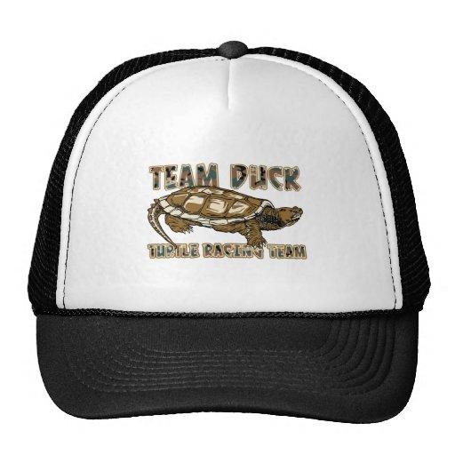 Team Duck - Turtle Racing Team Trucker Hats