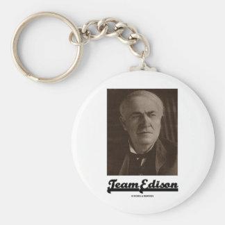 Team Edison (Thomas Alva Edison) Key Chain