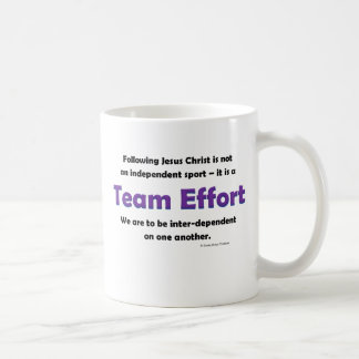 team effort mugs