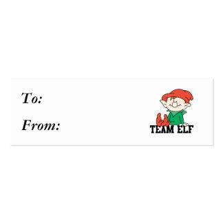 TEAM ELF BUSINESS CARD TEMPLATE