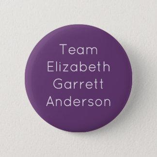 Team Elizabeth Garrett Anderson 6 Cm Round Badge