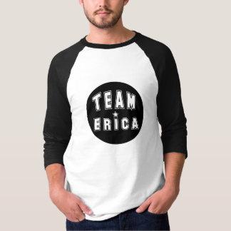 Team Erica Black T-Shirt