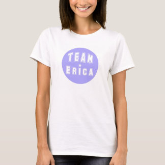 Team Erica Purple T-Shirt