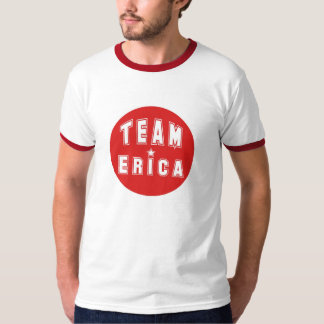Team Erica Red T-Shirt