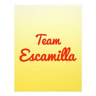 Team Escamilla Custom Flyer
