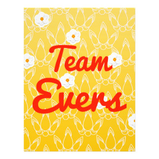 Team Evers Personalized Flyer