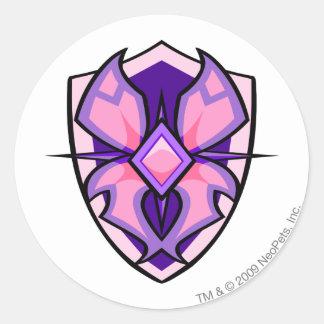 Team Faerieland Logo Round Sticker