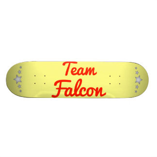Team Falcon Custom Skateboard