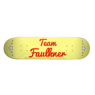Team Faulkner Skate Deck