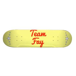 Team Fay Skate Boards