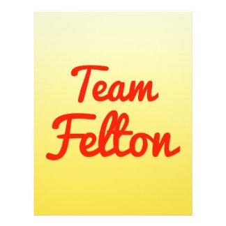 Team Felton Flyer Design