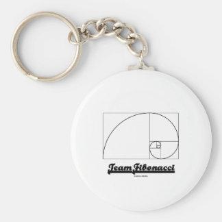 Team Fibonacci (Fibonacci Spiral) Keychains