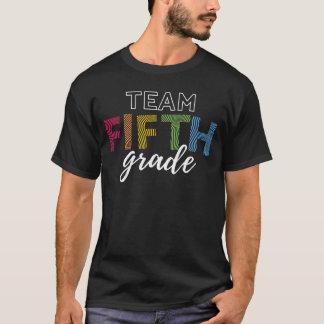 Team Fifth Grade Teacher Shirt