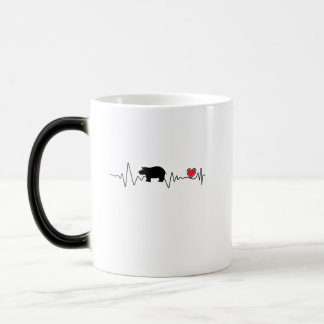 Team Fiona Baby Hippo  Love Hippopotamus Magic Mug
