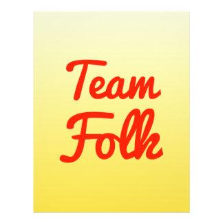 Team Folk Custom Flyer