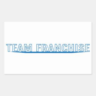 Team Franchise Transparent Sticker