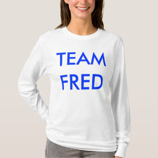 TEAM FRED HOODIE FOR LADIES