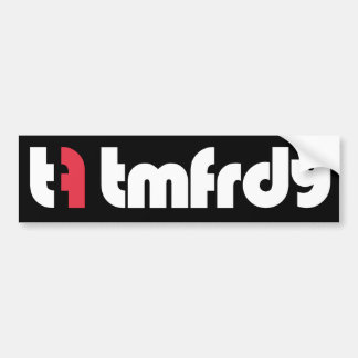 Team Friday Alt Logo Bumper Sticker