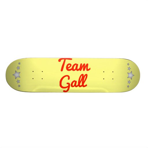 Team Gall Skate Boards
