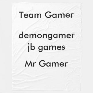 Team Gamer Blanket