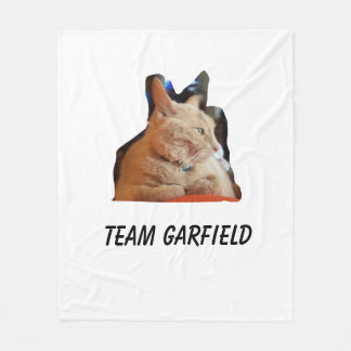 Team Garfield Fleece Blanket