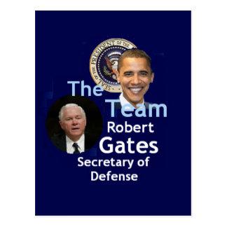 Team Gates Postcard