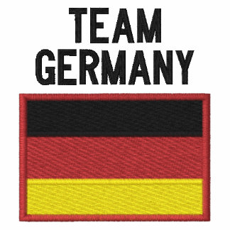 Team Germany German Sports Embroidered Polo Shirts