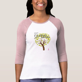 Team Gratitude and Grit Women's Raglan Shirt