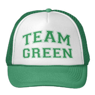 Team Green Hat