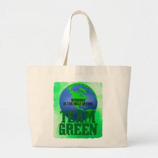 Team Green Jumbo Tote Tote Bag