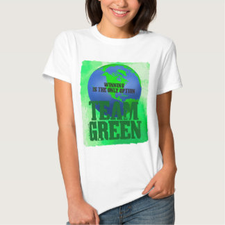 Team GreenLadies Baby Doll (Fitted) T-shirts