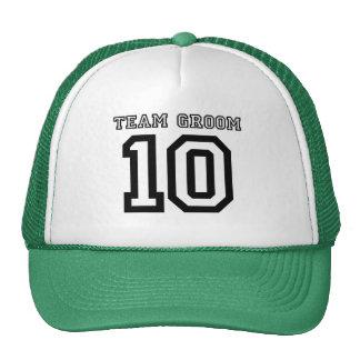 Team Groom 2010 Cap